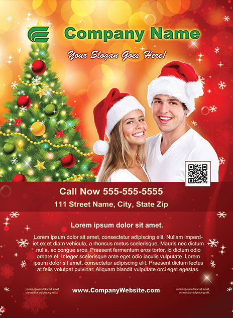 Christmas Style Template 1212001-2
