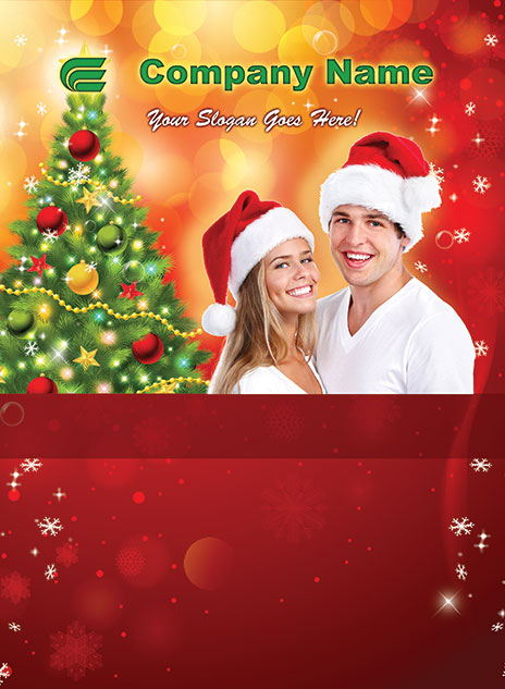 Christmas Style Template 1212001-3