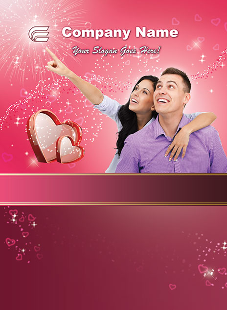 Valentine's Day Template 1302001-3