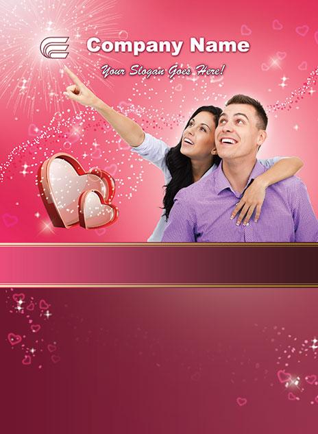 Valentine's Day Template 1302001-3