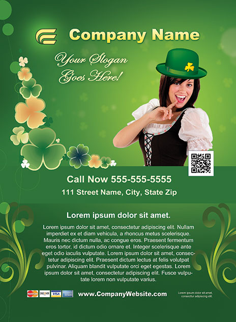 St. Patrick's Day Style Template 1303001-2