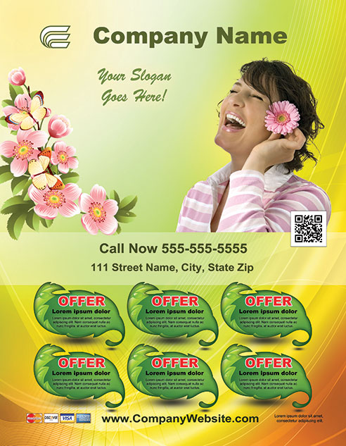 Spring Style Template 1304001