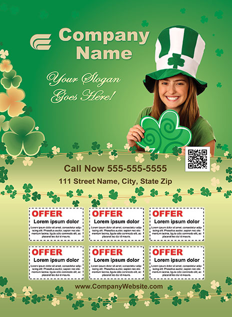 St. Patrick's Day Style Template 1403001