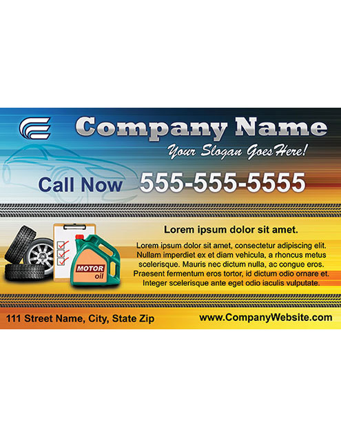 Repair Shop Style Template 1404001-2