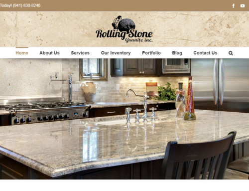 Web Design for Granite Company