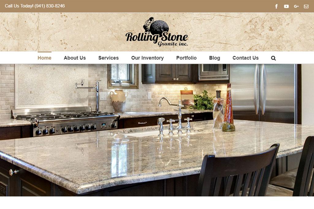 Rolling Stone Granite