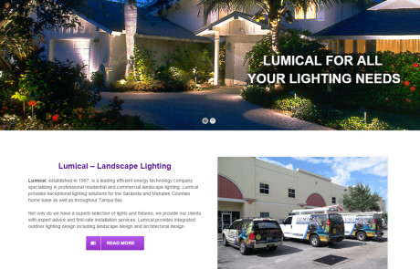 Website Design for Lumical